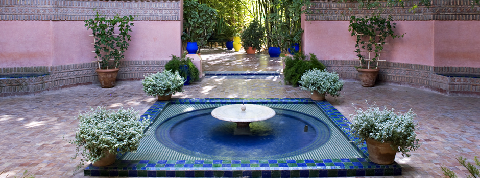 Majorelle garden for Jardin yves saint laurent marrakech