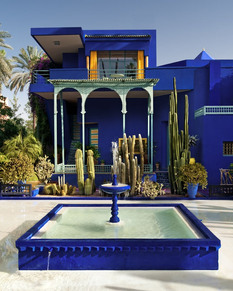 Fondation jardin majorelle majorelle garden for Jardin yves saint laurent marrakech